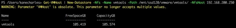 New-Datastore